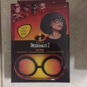 Disney Incredibles 2 Edna adult costume kit